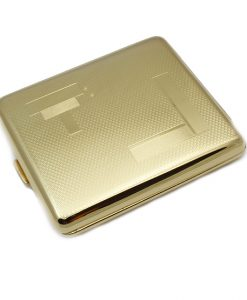 Cigarette Case Gold Coloured King Size