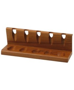 Hauser Teakwood 5 Pipe Stand