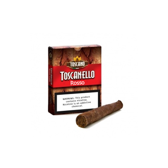 Toscano Toscanello Rosso Cigars Pack of 10