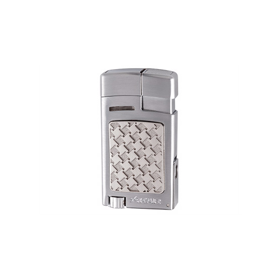 Xikar Forte Soft Flame Cigar Lighter - Silver