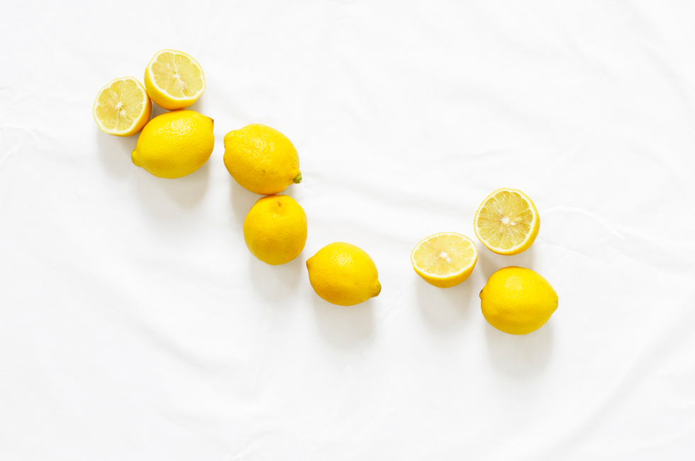 Lemons used as a palate cleanser for cigars