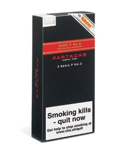 Partagas Series P No.2 Cigar - Pack of 3 Tubos