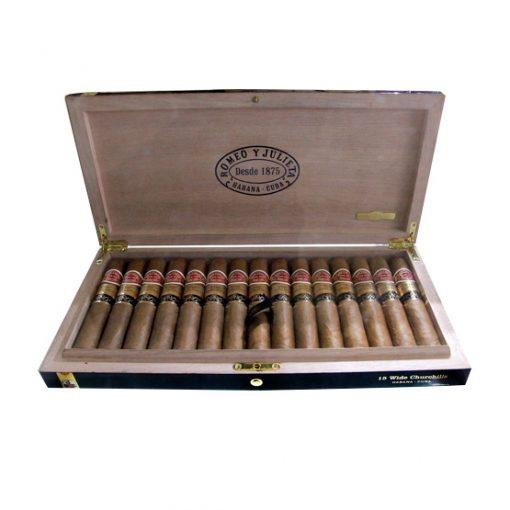 Romeo y Julieta Wide Churchill Gran Reserva Cigar - Cabinet of 15
