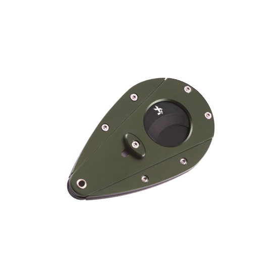 Xikar Xi1 Cigar Cutter - Green with Black Blade