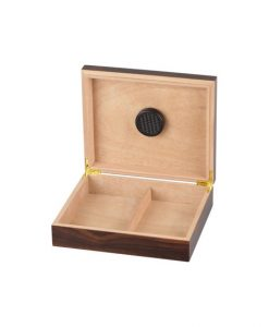 Walnut Cigar Humidor for 20 Cigars