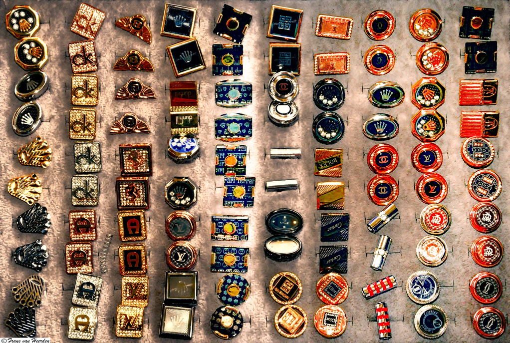 collection of cufflinks