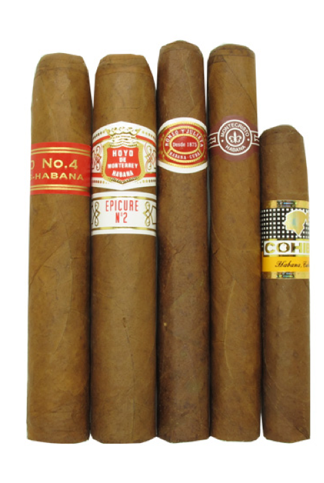 Selection of cigars