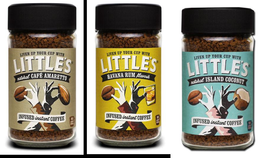 Three Littles coffee jars