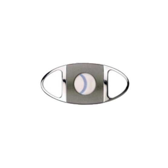 Passatore Oval Cigar Cutter Grey Middle