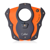 Colibri Cut Cigar Cutter-Black With Orange Blades