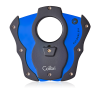 Colibri Cut Cigar Cutter-Black With Blue Blades