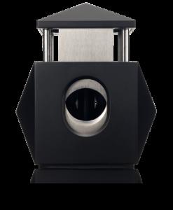 Colibri Quasar Two-in-One Desktop Cigar Cutter-Black