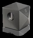 Colibri Quasar Two-in-One Desktop Cigar Cutter-Gunmetal