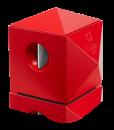 Colibri Quasar Two-in-One Desktop Cigar Cutter-Red