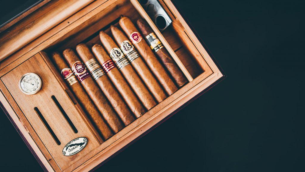 humidor full of cigars