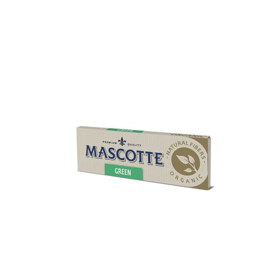 Mascotte 100% Natural Organic Green Cigarette Papers