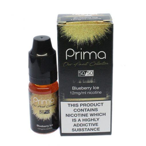 Blueberry Ice E-Liquid By Prima 10ml x 3 Bottles