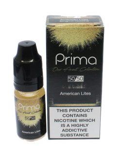 American Lite E-Liquid By Prima 10ml