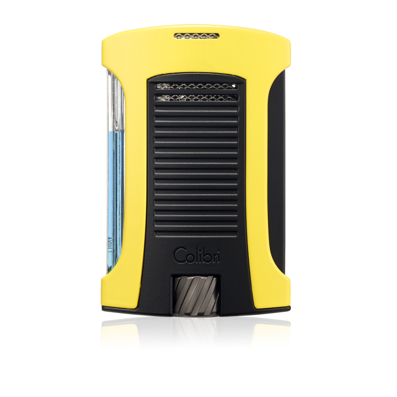 Colibri Daytona Single-Jet Flame Lighter – Yellow