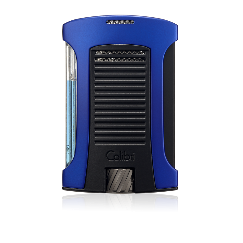 Colibri Daytona Single-Jet Flame Lighter - Blue