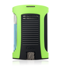 Colibri Daytona Single-Jet Flame Lighter - Green