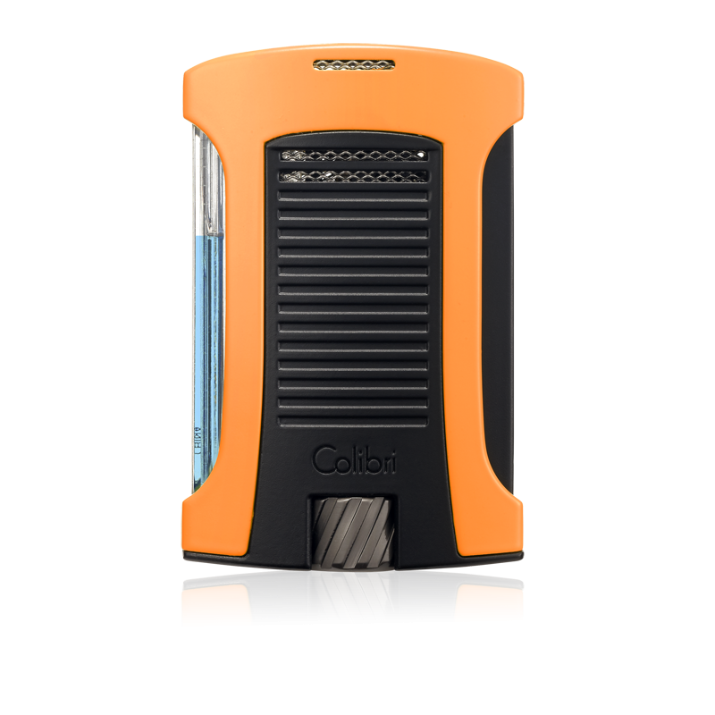 Colibri Daytona Single-Jet Flame Lighter - Orange