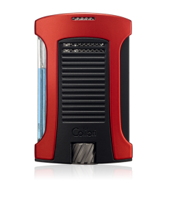 Colibri Daytona Single-Jet Flame Lighter - Red