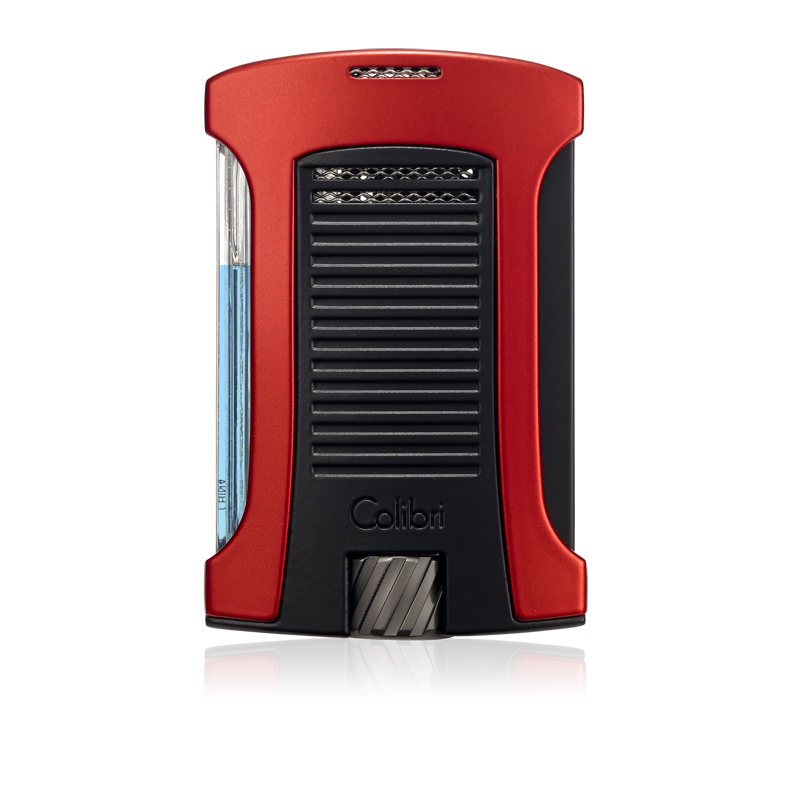 Colibri Daytona Single-Jet Flame Lighter - Red