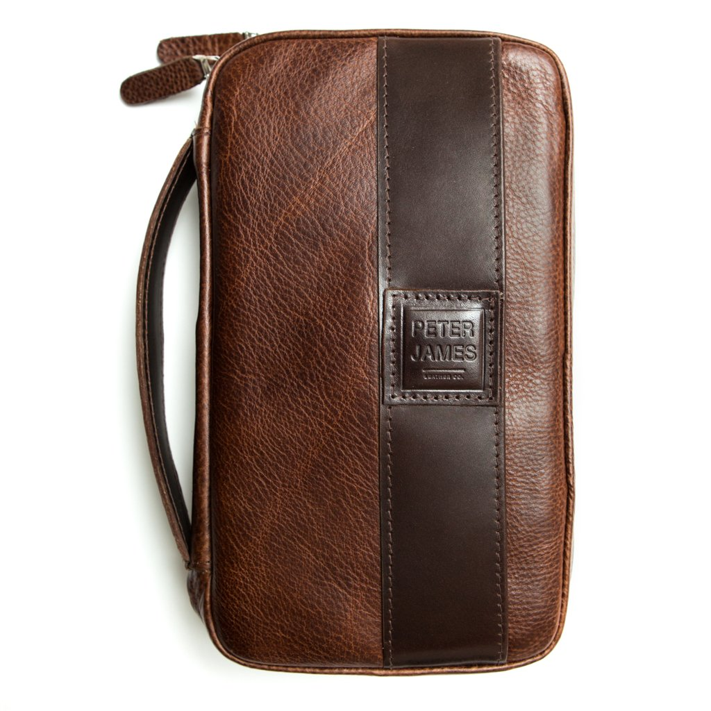 Peter James Castano Aficionado Leather Cigar Case