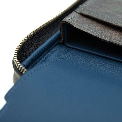 Peter James Oceana Aficionado Leather Cigar Case