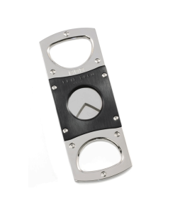 Elie Bleu Double Blade Cigar Cutter – Stainless Steel