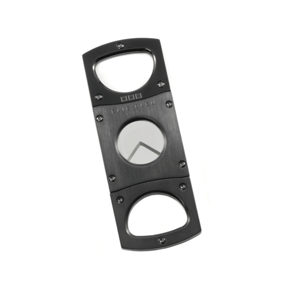 Elie Bleu Double Blade Cigar Cutter - Black