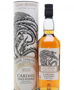 Cardhu Gold Reserve Game of Thrones House Targaryen Whisky