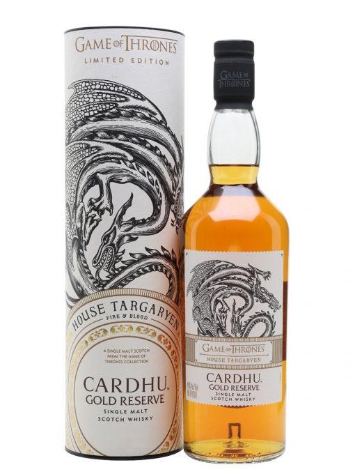 Cardhu Gold Reserve Game of Thrones House Targaryen Whisky