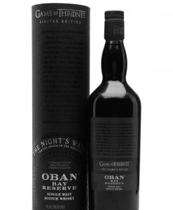 Oban Bay Reserve Game of Thrones Night's Watch Whisky