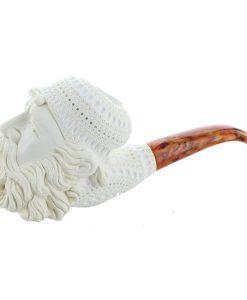 Meerschaum Pipe Smoking Man