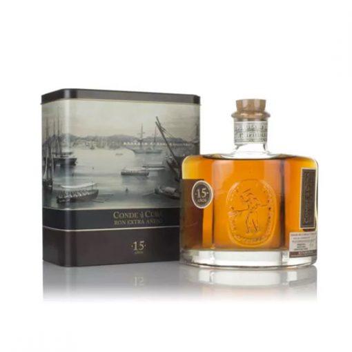 Conde De Cuba 15 Year Old Extra Anejo Dark Rum