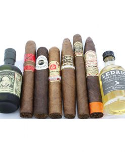 A Unique opportunity to carry out your own pairing with this Rum and Whisky Cigar Selection.