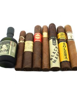 Novermber Cill Cigar Selection with Rum