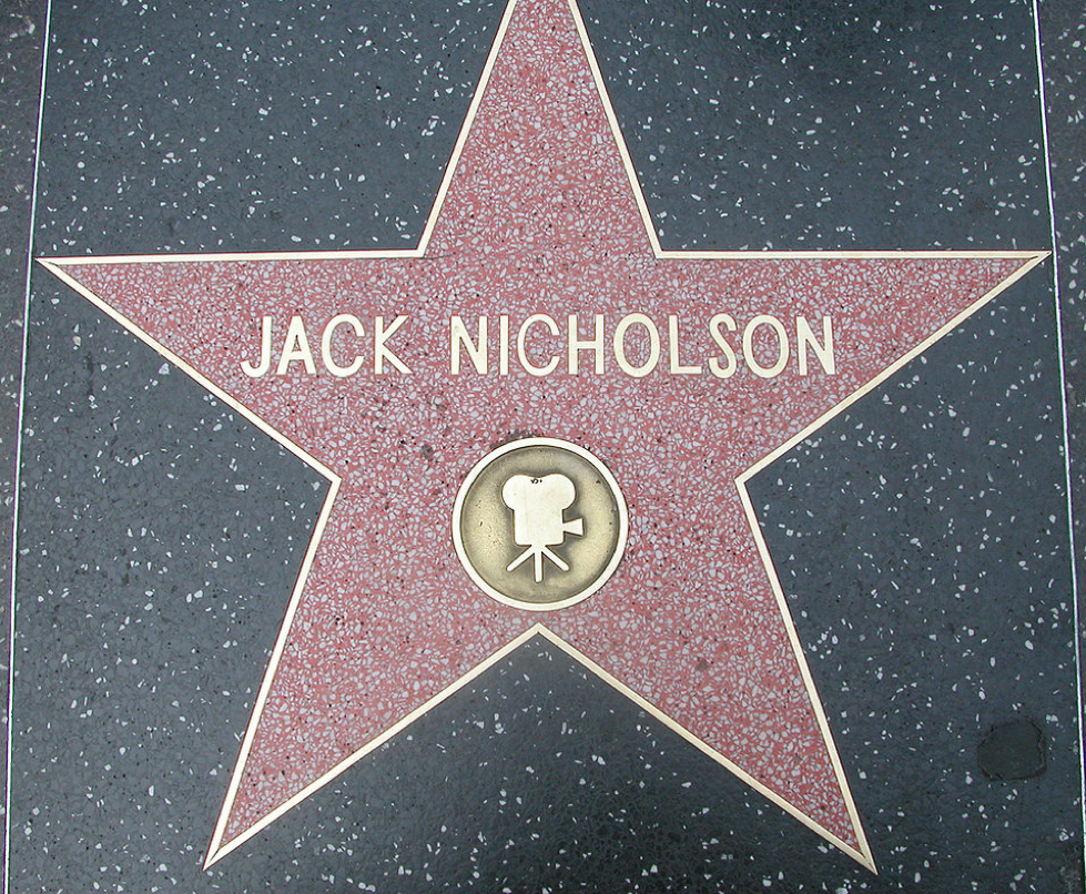 Jack Nicholson star
