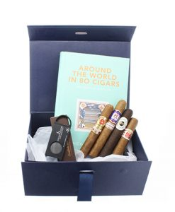 Around the World in 80 Cigars Gift Box Cigar Selection