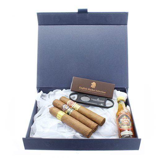 Cuban Cigars And Cuban Rum Gift Box Cigar Selection