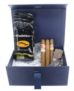 Cuban Cuigar and Ciffee Gift Box Cigar Selection