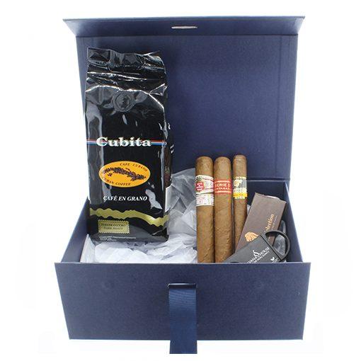 Cuban Cuigar and Ciffee Gift Box Cigar Selection
