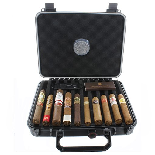 Xikar 20 Count Travel Humidor Gift Box Cigar Selection