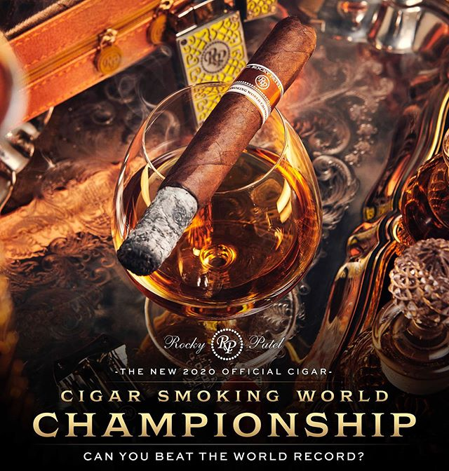 rocky patel cigar smoking world championship