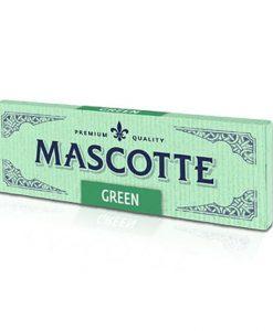 Mascotte Green Cut Corners Cigarette Rolling Papers