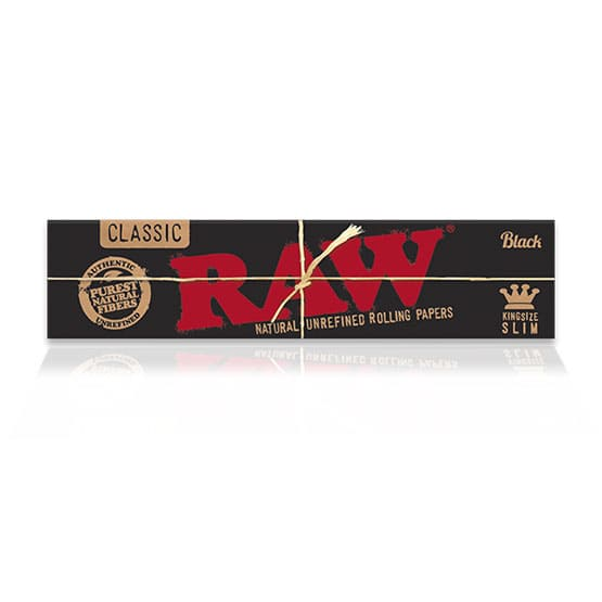 Raw Black King Size Slim Cigar Rolling Papers