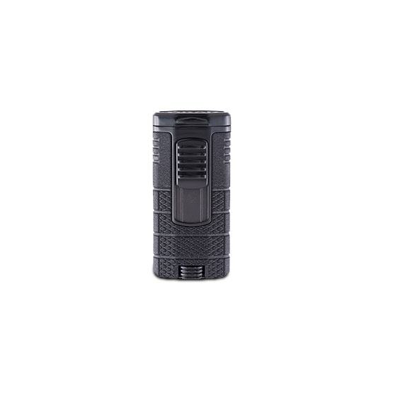 XIKAR-Tactical-Triple-jet-Flame-Lighter-black-&-black