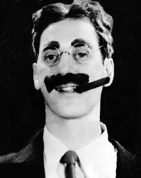 groucho marx with a cigar